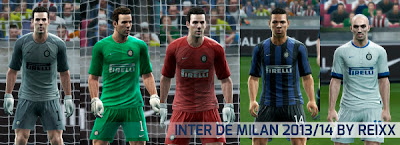 Inter Milan Kitset 2013-2014 by Reixx