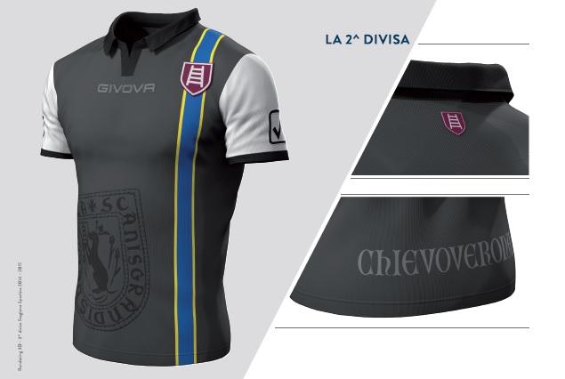 Chievo verona 14 15 kits released footy headlines for Uniform verona