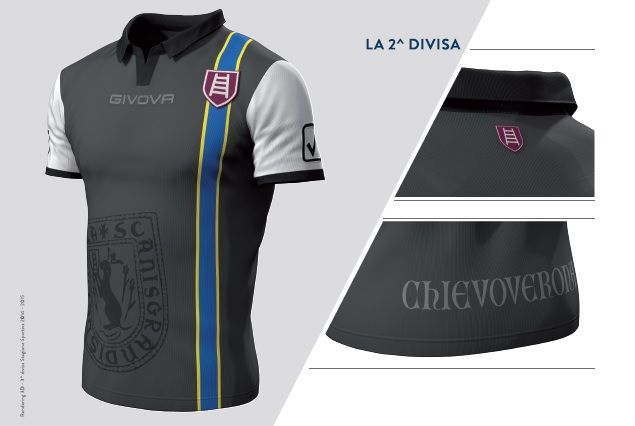 Chievo verona 14 15 kits released footy headlines for Uniform verona
