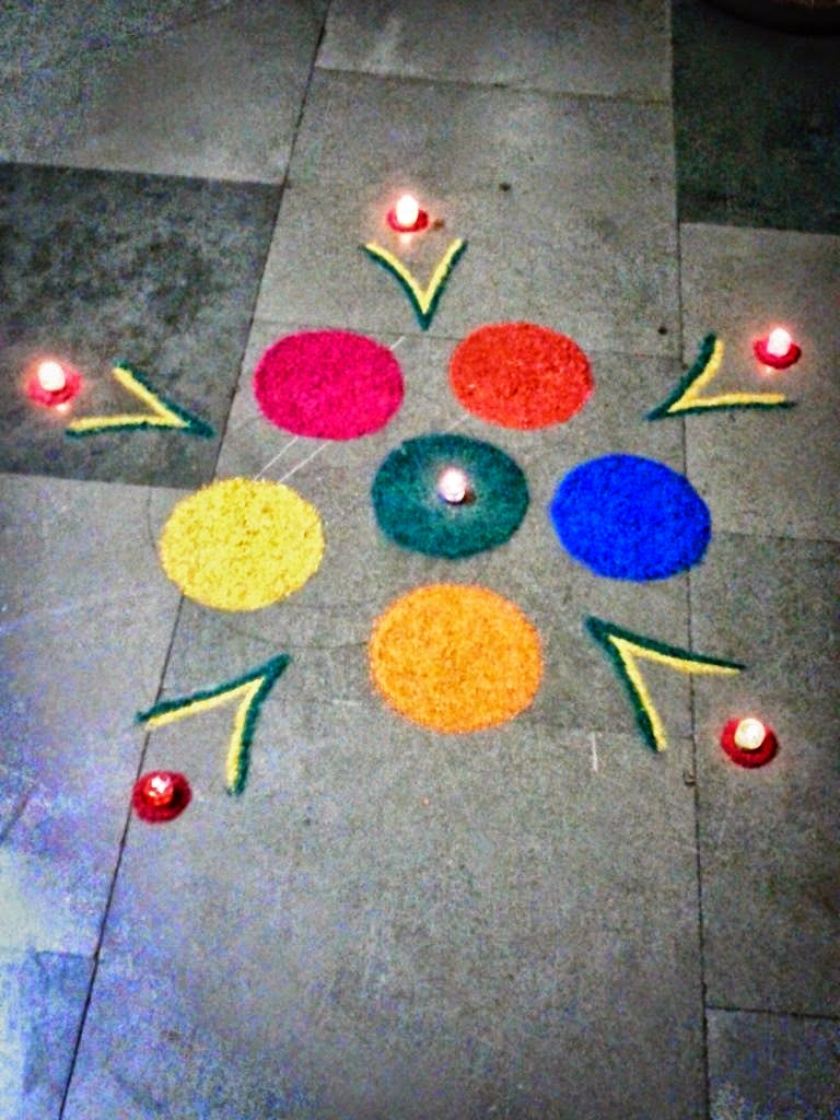 25+ Easy and Creative Rangoli Designs for Kids with Visuals