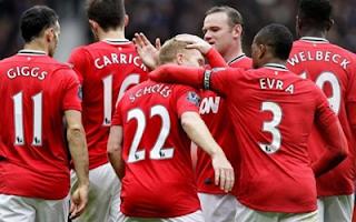 أهداف مباراة مانشستر يونايتد و أستون فيلا 4-0 بتعليق فهد العتيبي 15-4-2012