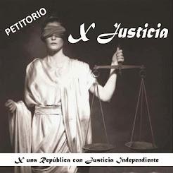 X JUSTICIA