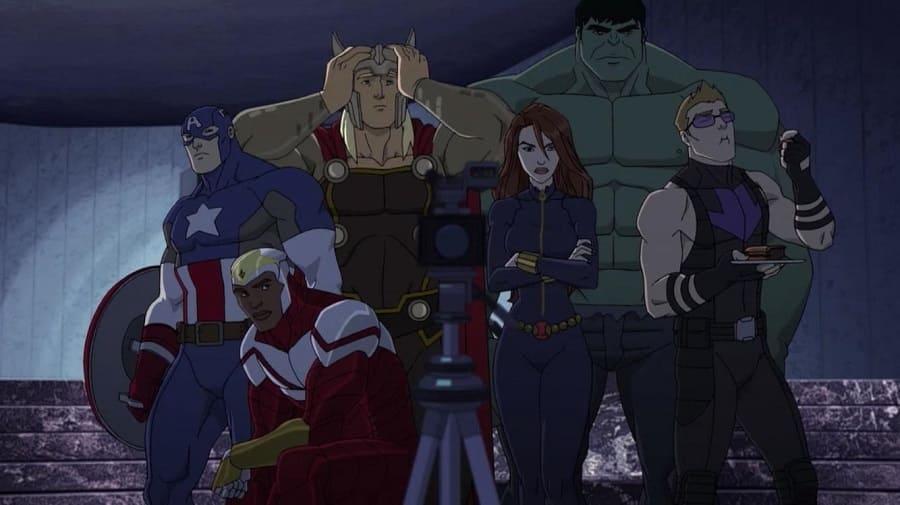 Os Vingadores Unidos - 2ª Temporada 2014 Desenho 1080p BDRip Bluray FullHD WEB-DL completo Torrent