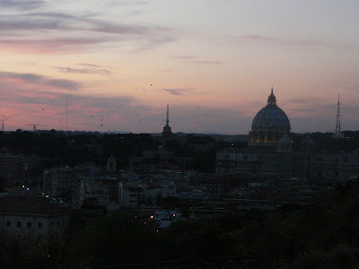 View-to-the-St.Peter's-Cathedral-from-Gianicolo-Hill-Rome-Italy