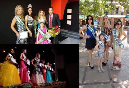 Paranaenses conquistam títulos internacionais de beleza na Guatemala