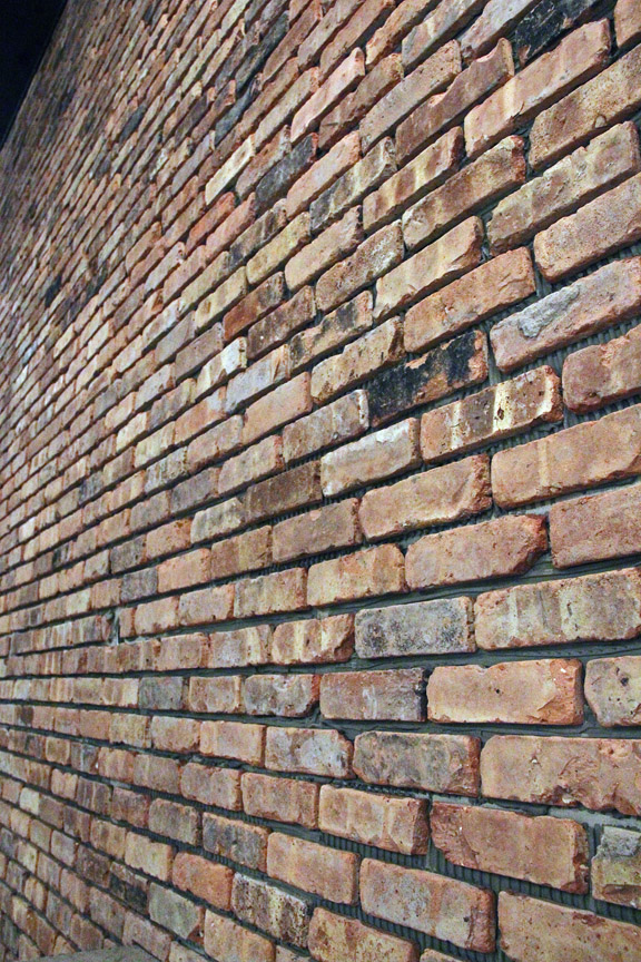 Chicago Cut Brick Veneer Installation Masonry Picture