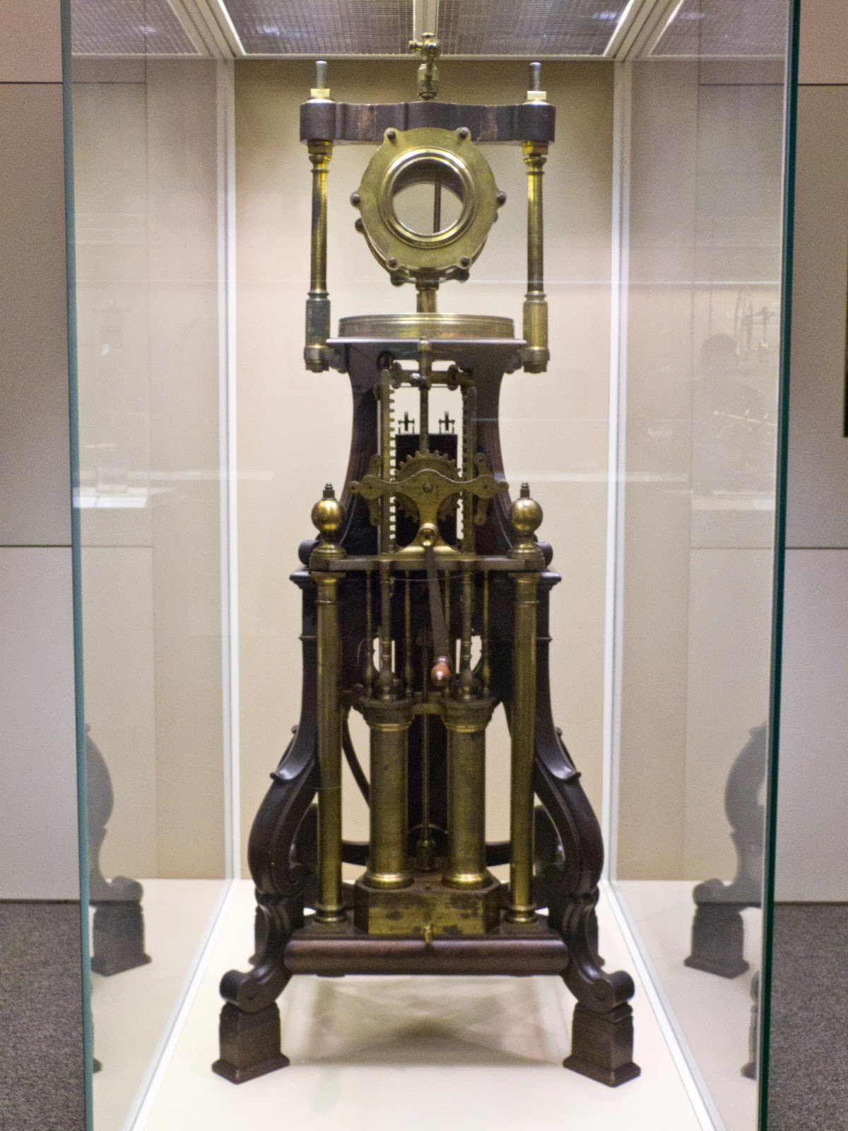 Air pump made for George III  by George Adams (1761)