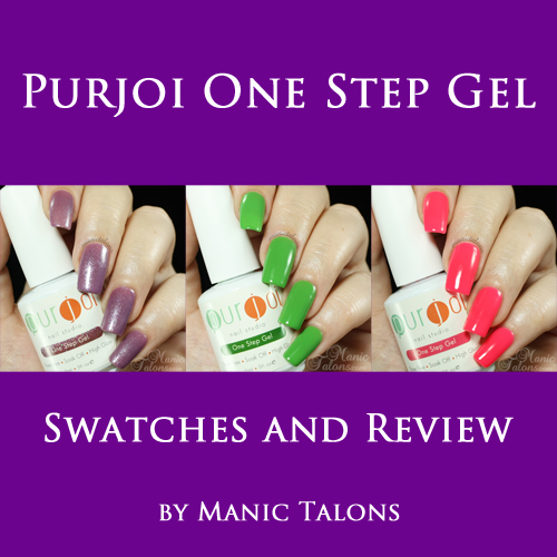 Purjoi One Step Gel Polish Review