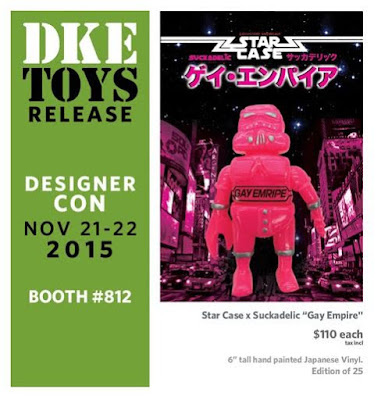 Designer Con 2015 Exclusive Sucklord x Star Case Bootleg Star Wars Vinyl Figures - Gay Empire