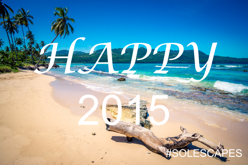Happy 2015 Playa Rincon Beach