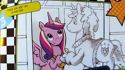 "Cadance and SA in ""Tack On Me"""