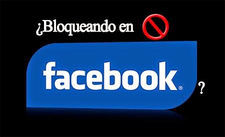 me han bloqueado en facebook