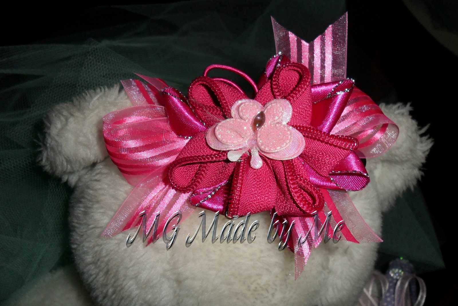 Mg made by me tocados para novias y diademas - Broches de pelo ...