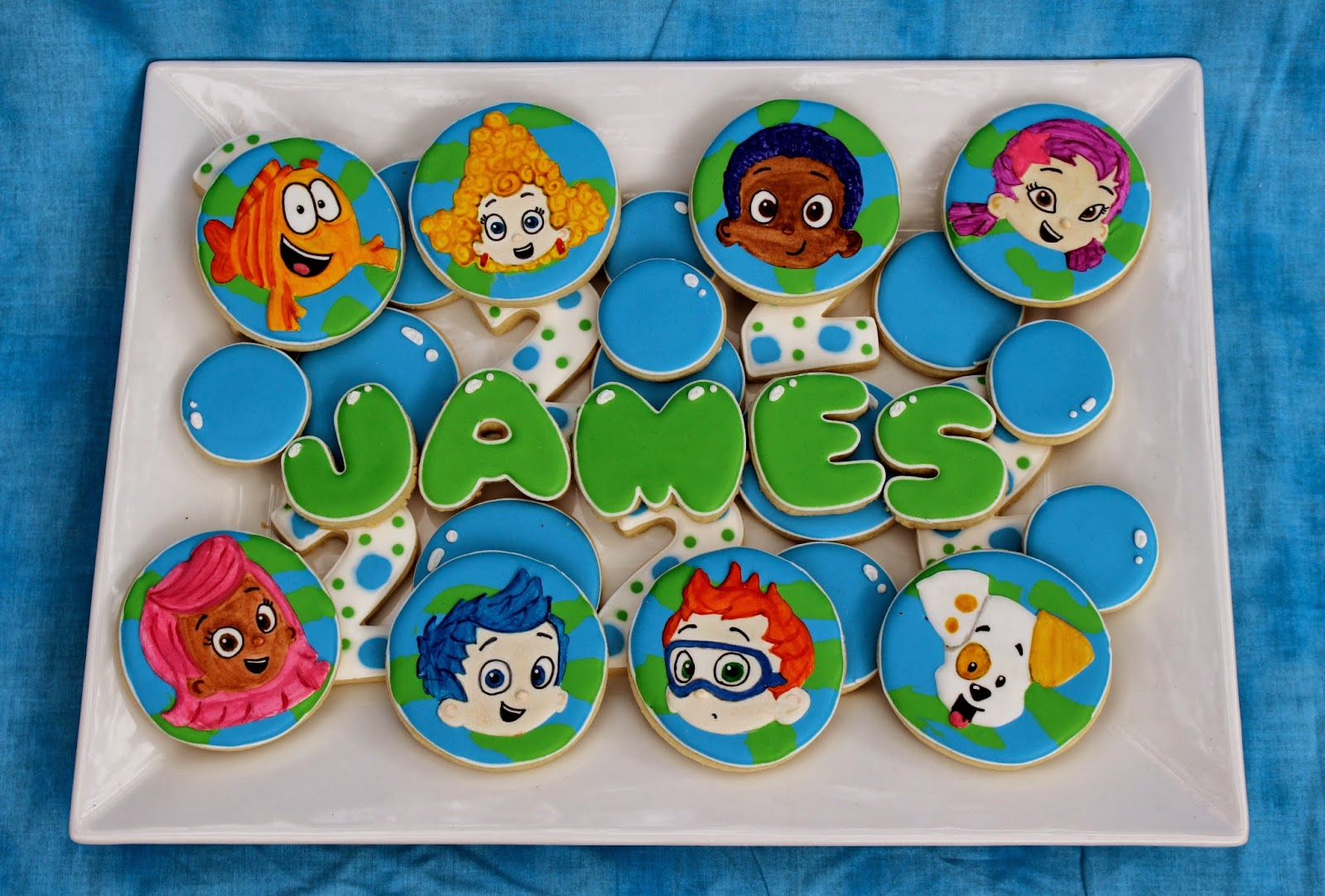 sweet melissa u0027s cookies happy 2nd birthday james bubble