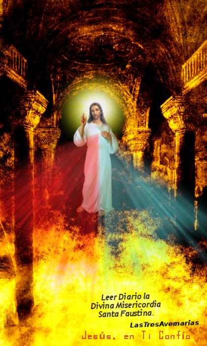 imagen con jesus misericordios