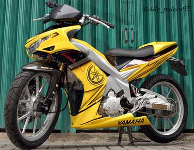 Motor Modifikasi Yamaha Jupiter MX
