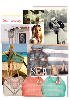 Nica's Summer handbags, nautical trend
