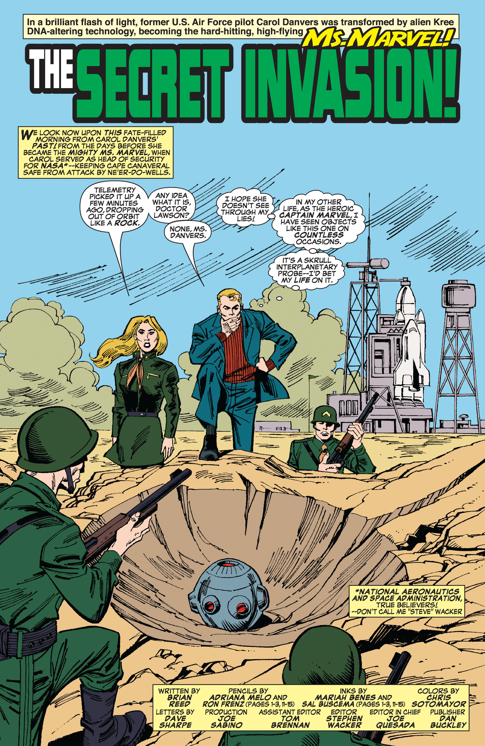 Read online Secret Invasion: The Infiltration comic -  Issue #8 - 3