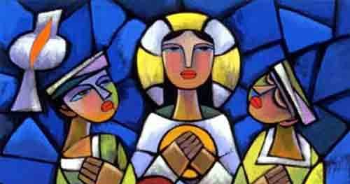 indigenous jesus supper at emmaus by he qi