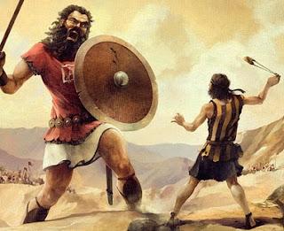 Goliath vs. David (Artist unknown)