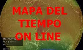 CONSULTA DE MAPA DEL TIEMPO ON LINE EN SUDAMERICA