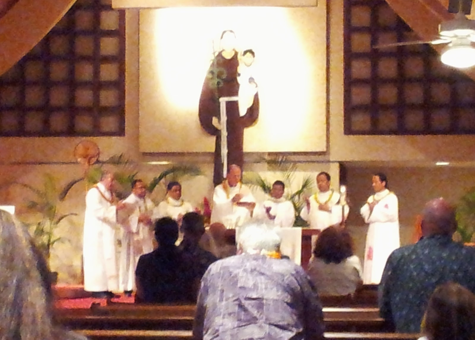 Feast day celebrations st anthony of padua church in kailua 6 13 2013