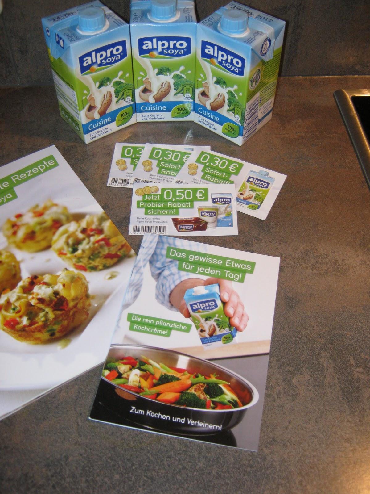 R bes testblog alpro soya cuisine for Alpro soja cuisine