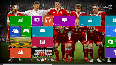 2013 Fc Bayern Munchen Theme For Windows 8
