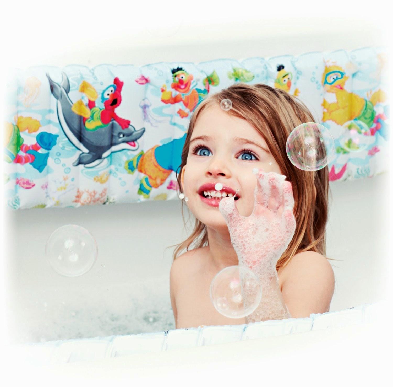 Sesame Street Bathtub Bumper