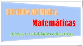 Matemáticas de Educación Secundaria