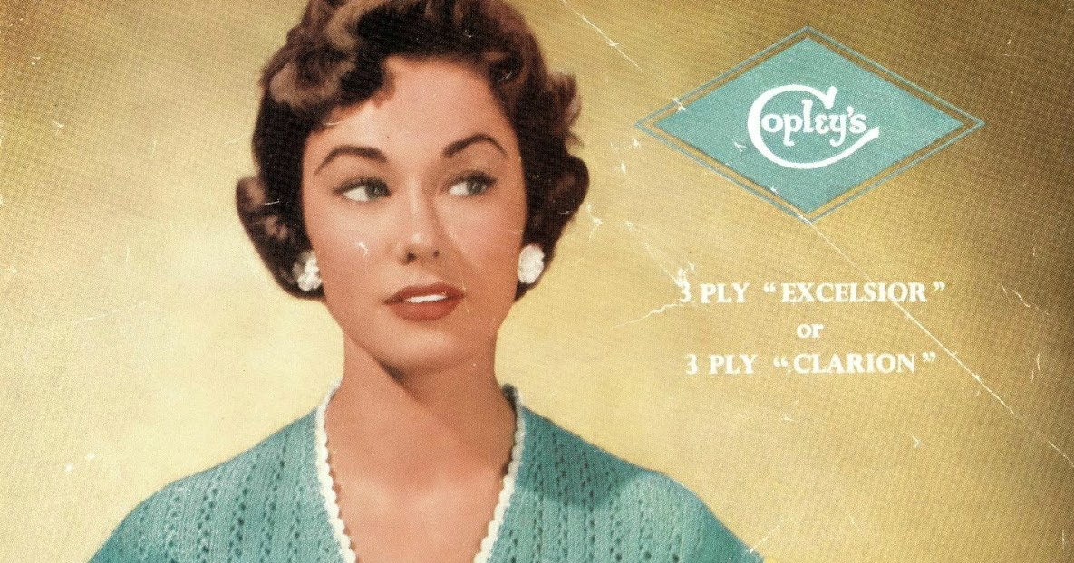 The Vintage Pattern Files: 1950's Knitting