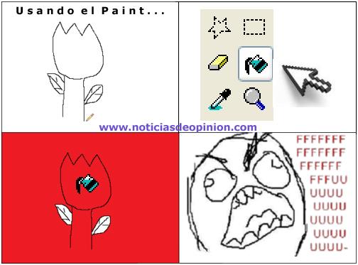Viñeta: error usando el Paint