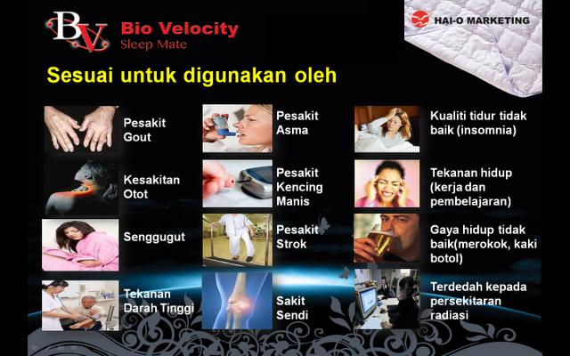 Biovelocity Sleepmate Info dan Testimoni, Biovelocity sleepmate, Pelapik tilam biovelocity, BioVelocity Agent, Harga Biovelocity, Jual Biovelocity Sleepmate, Biovelocity murah, Biovelocity original, Pelapik tilam biovelocity, Pelapik tilam garam laut, Pelapik tilam haio, Fungsi pelapik tilam bio velocity, Fungsi Bvsm, Sifat tenaga semulajadi, Sifat tenaga BV, Siapa yang sesuai guna BVSM, BVSM