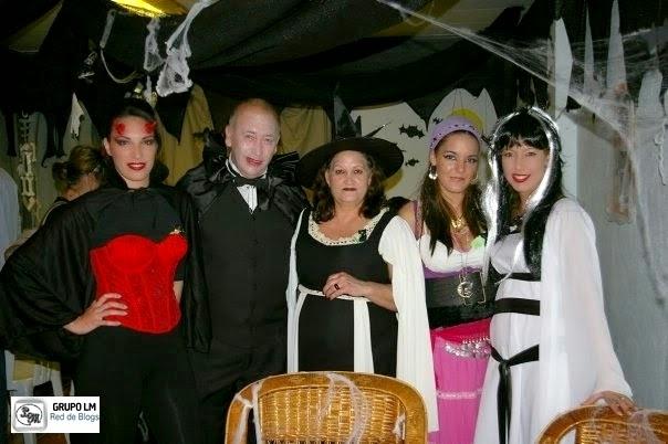 fiesta de halloween foto protegida por derechos de autor prohibida su copia
