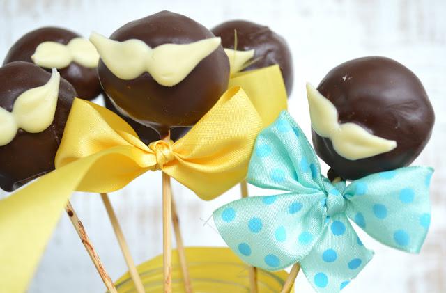 STRIČEKI (CAKE POPS OD ČOKOLADE I LJEŠNJAKA) / MR. CAKE POPS WITH CHOCOLATE AND HAZELNUTS