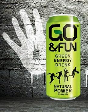 Ecco una nuova bevanda per chi pratica sport ma anche per chi non lo pratica : Go&Fun Green Energy