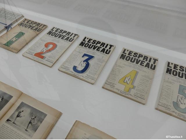 Revue L'Esprit Nouveau by Le Corbusier et Amédée Ozenfant