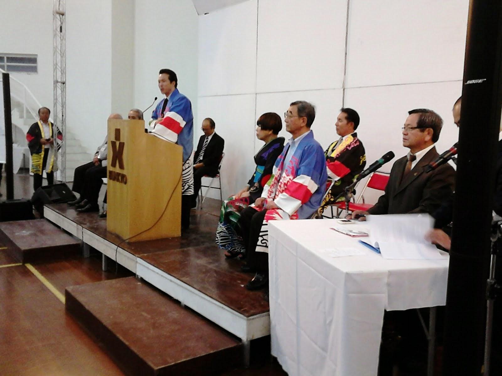 ENCONTRO COM TAKASHI UTO, VICE-MINISTRO DOS NEGÓCIOS ESTRANGEIROS DE JAPÃO