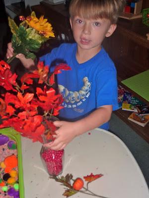 Fall-Flower-Decorating