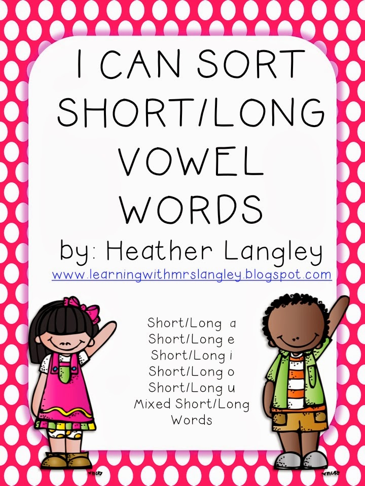 http://www.teacherspayteachers.com/Product/I-Can-Sort-LongShort-Vowel-Words-1000248