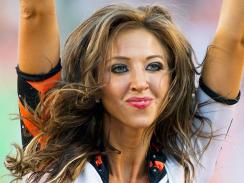 Sarah Jones Cheerleader