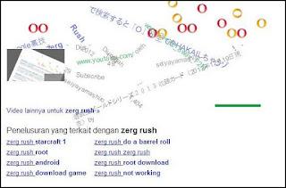 zerg rush di google