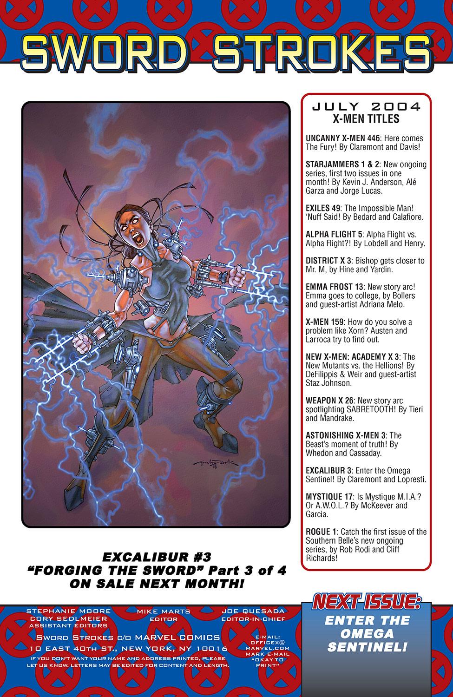 Excalibur (2004) Issue #2 #2 - English 24