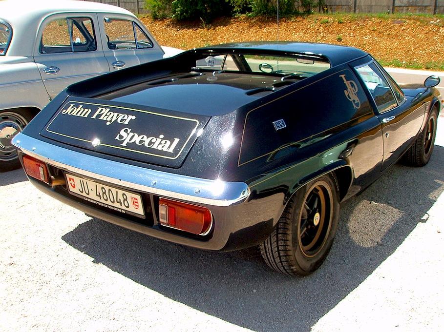 Fab wheels digest f w d lotus europa john player special 1972 74