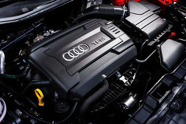 Novo Audi A1 2016 - motor