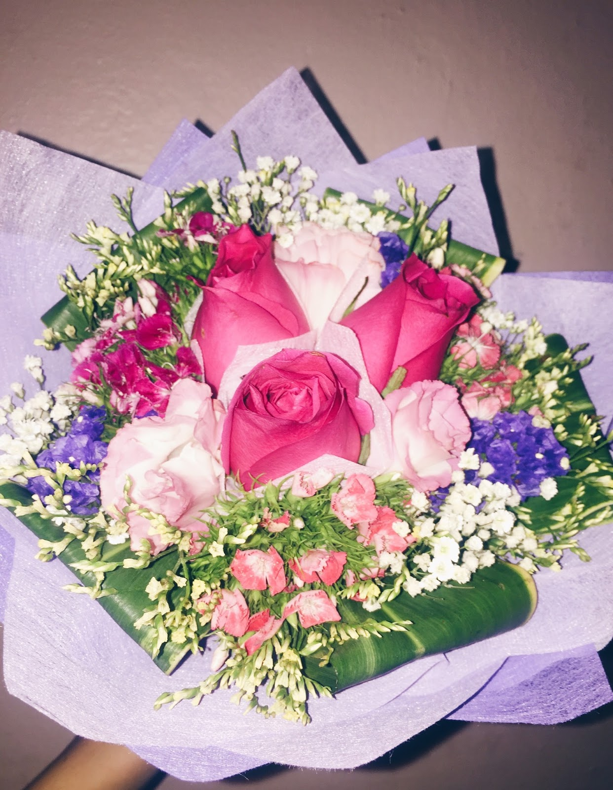 N onfictional 2016 he gave me a bouquet of flowers because it is our 2nd anniversary today he gave me a bouquet of flowers too last year izmirmasajfo