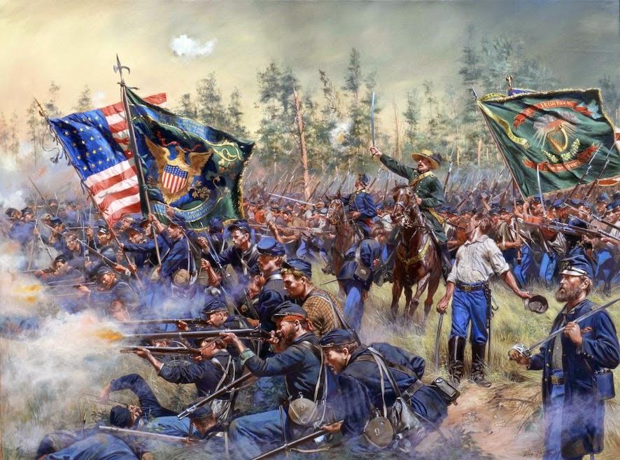 Guerra de Secesión - 1861 y 1865