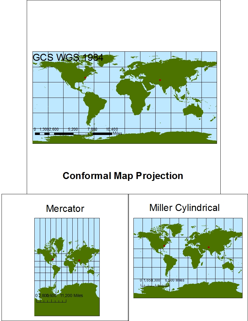 conformal map projection Shape versus size – conformality versus equivalency each of the map projections previously discussed as well as any conformal maps are useful in that they help.
