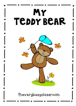 The Very Busy Classroom: My Teddy Bear Poetry on Freebie Friday