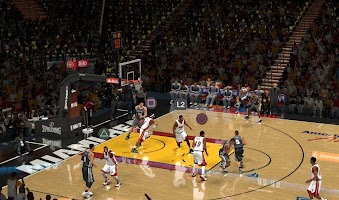 NBA 2k14 Next-Gen on PC Mod : PS4 icons in Gameplay